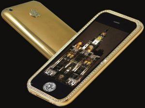 Смартфон с алмазами