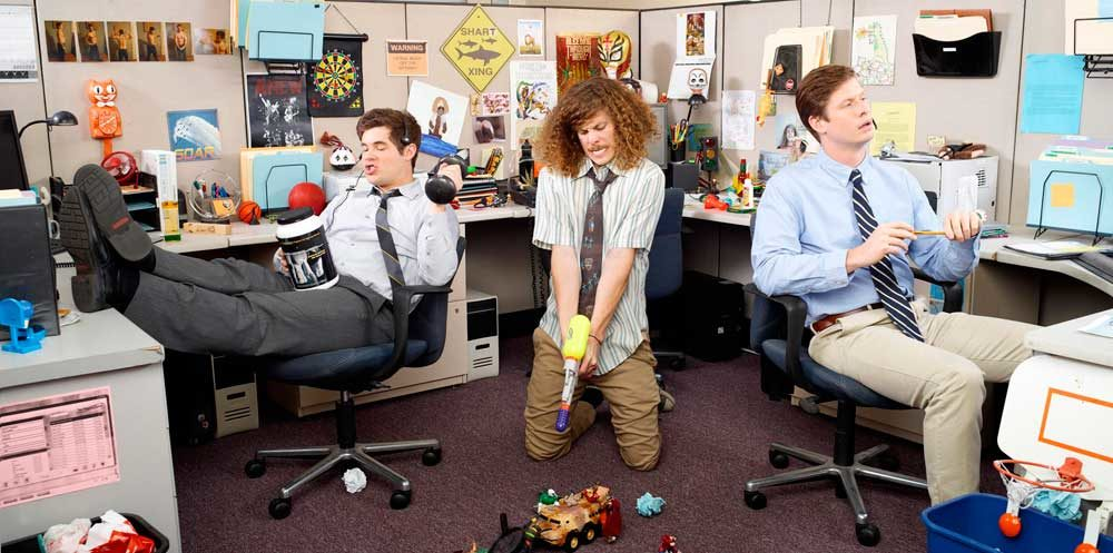 weird office