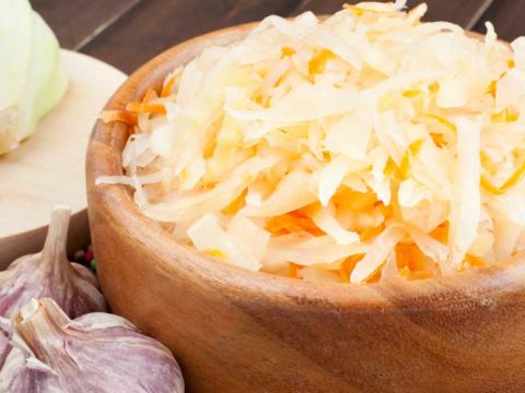 Квашенная капуста без соли