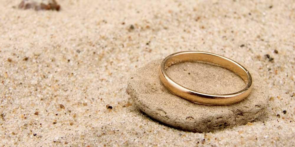 Золотые украшения. Обручальное кольцо