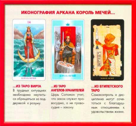 Иконография Аркана Таро Король Мечей