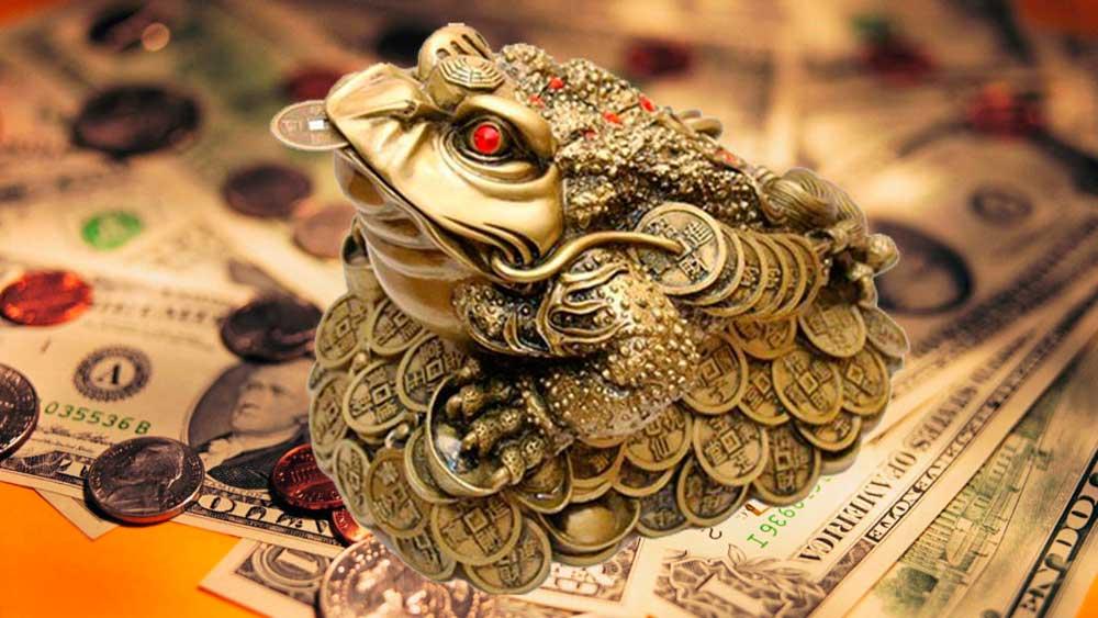 Статуэтка денежной жабы