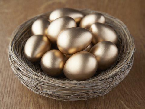 Корзина с золотыми яйцами. Не клади все яйца в одну корзину