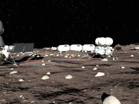 Россия и США построят базу на Луне