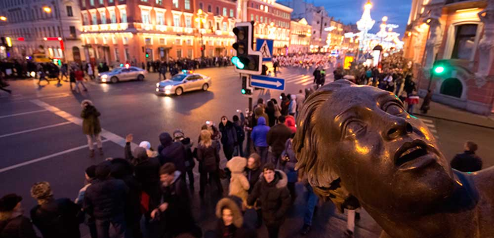 Санкт-Петербург, фотография Антона Малькова