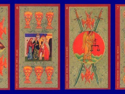 Колода карт Таро - Таро Золото Икон
